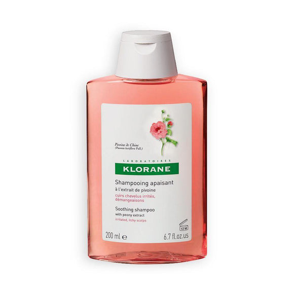 Klorane - Peony Shampoo - 200ml - Medipharm Online - Cheap Online Pharmacy Dublin Ireland Europe Best Price