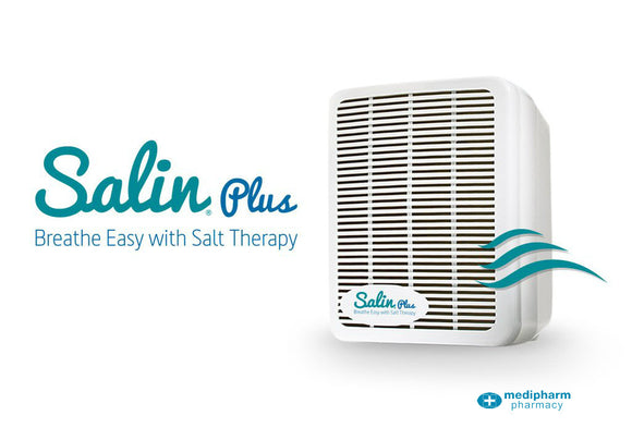 Salin Plus Breathe Easy Salt Therapy - Medipharm Online Pharmacy Dublin Ireland - medipharm.ie