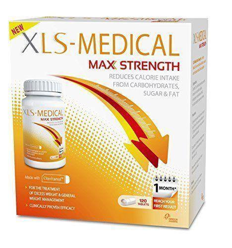 XLS Medical Max Strength 120 Tablets