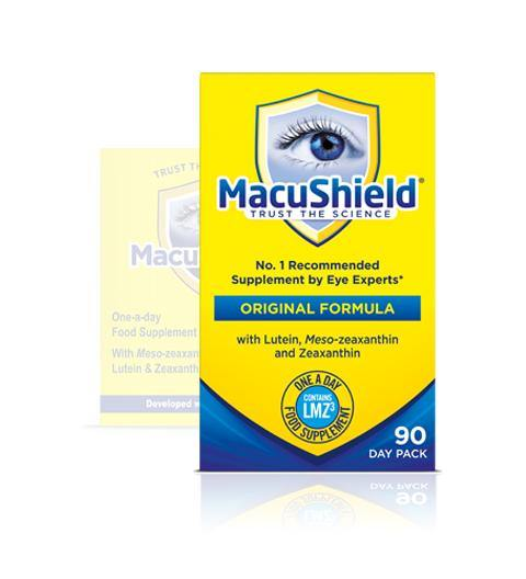 Macushield Capsules Pack of 90 capsules (1, 2, 3, 4 ,6 and 10 pack) - Medipharm Online - Cheap Online Pharmacy Dublin Ireland Europe Best Price