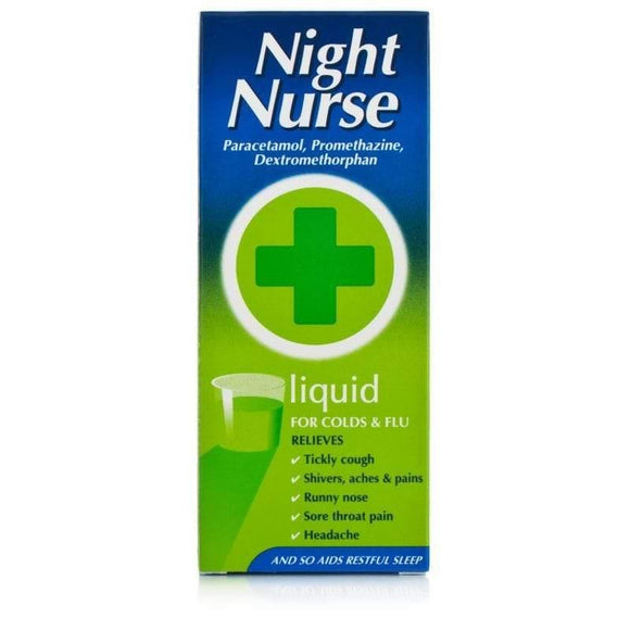 Night Nurse Liquid 160ml - Medipharm Online