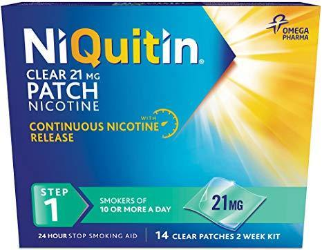 NIQUITIN Classic Step 1 14days 21MG (Patch)