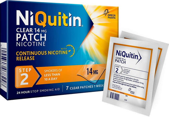 NIQUITIN Clear Step 2 14MG (Patch)