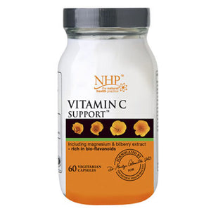 NHP Vitamin C Support - 60 Vegetarian Capsules - Medipharm Online - Cheap Online Pharmacy Dublin Ireland Europe Best Price