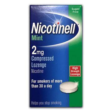 Nicotinell - 2mg - Mint Lozenge - 96 Pack