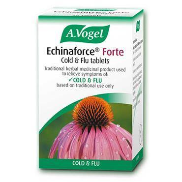 A. Vogel Echinaforce Forte Cold & Flu Tablets 40 Tablets