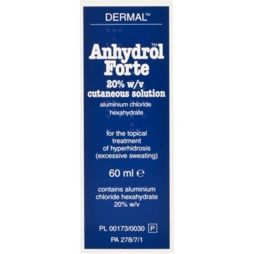 Anhydrol Forte 20% Cutaneous Solution 60ml