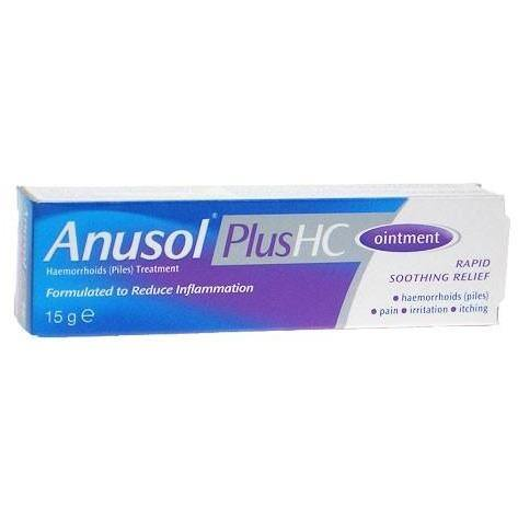 Anusol - HC Ointment OTC -15g - Medipharm Online - Cheap Online Pharmacy Dublin Ireland Europe Best Price