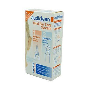 Audiclean - Total Ear Care System - 12ml & 60ml - Medipharm Online - Cheap Online Pharmacy Dublin Ireland Europe Best Price