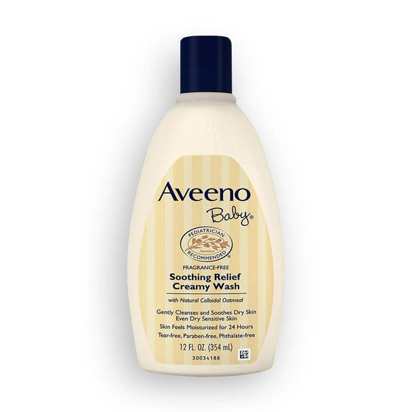 Aveeno - Baby Soothing Relief Creamy Wash - 354ml - Medipharm Online - Cheap Online Pharmacy Dublin Ireland Europe Best Price