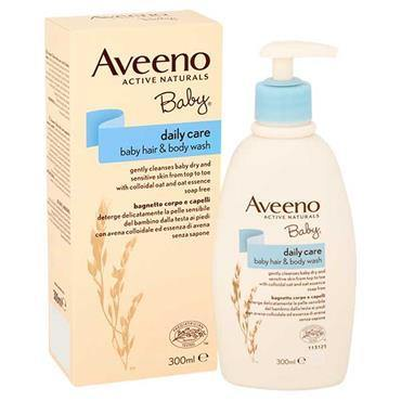Aveeno Baby - Daily Care Hair & Body Wash - 300ml - Medipharm Online - Cheap Online Pharmacy Dublin Ireland Europe Best Price