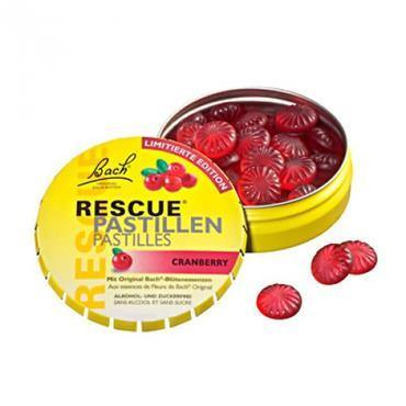 Bach - Rescue Remedy Pastilles Cranberry - 50g - Medipharm Online - Cheap Online Pharmacy Dublin Ireland Europe Best Price