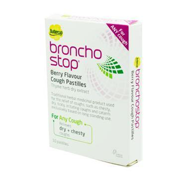 Buttercup Broncho Stop Cough Pastilles 10 pack - Medipharm Online - Cheap Online Pharmacy Dublin Ireland Europe Best Price