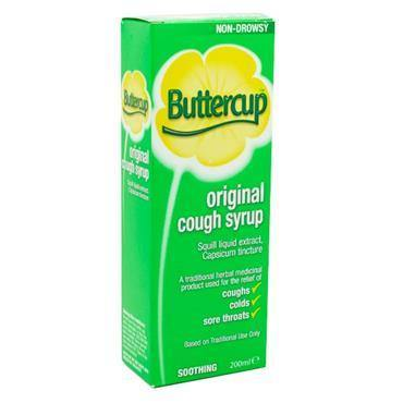 Buttercup Original Cough Syrup 200ml - Medipharm Online - Cheap Online Pharmacy Dublin Ireland Europe Best Price