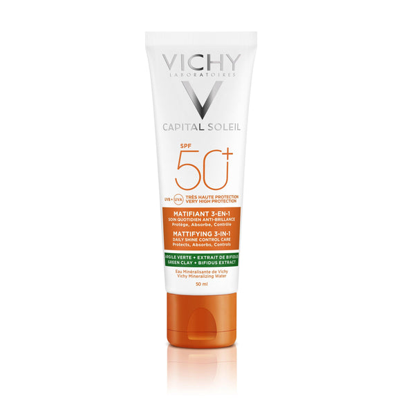 Vichy CAPITAL SOLEIL Mattifying 3-in-1 SPF50+ 50ML