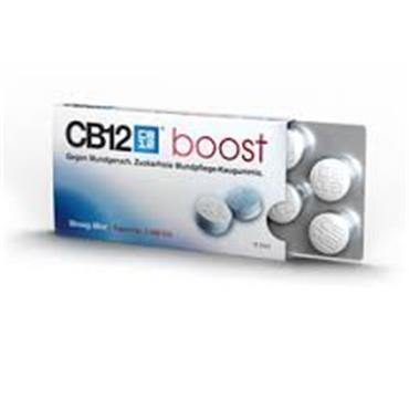 CB12 Boost Chewing Strong Mint Gum 10 Pieces