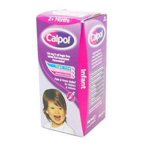 Calpol Infant 2m+ Strawberry Sugar Free