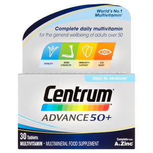 Centrum Advance 50+ Multivitamins