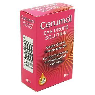 Cerumol Ear Drops Solution 11ml - Medipharm Online - Cheap Online Pharmacy Dublin Ireland Europe Best Price