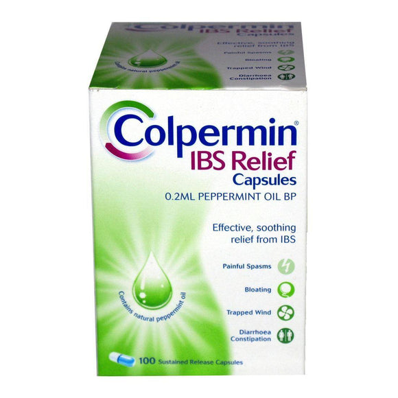 Colpermin - 100 Capsules - Medipharm Online - Cheap Online Pharmacy Dublin Ireland Europe Best Price