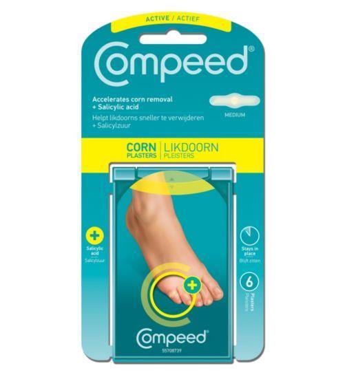 Compeed - Corn Plasters Medium - 6 Pack - Medipharm Online - Cheap Online Pharmacy Dublin Ireland Europe Best Price