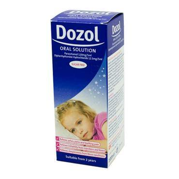 Dozol Sugar Free Oral Solution 100ml with Dosing Syringe - Medipharm Online - Cheap Online Pharmacy Dublin Ireland Europe Best Price