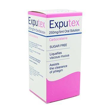 Exputex Carbocisteine 250mg/5ml Oral Solution - Medipharm Online - Cheap Online Pharmacy Dublin Ireland Europe Best Price