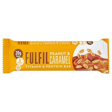 Fulfil Vitamin & Protein Bar Peanut & Caramel