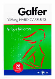 Galfer - Hard Capsules - 305mg - 28 Pack - Medipharm Online - Cheap Online Pharmacy Dublin Ireland Europe Best Price