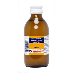 Glycerine Honey & Lemon - 200ml - Medipharm Online - Cheap Online Pharmacy Dublin Ireland Europe Best Price