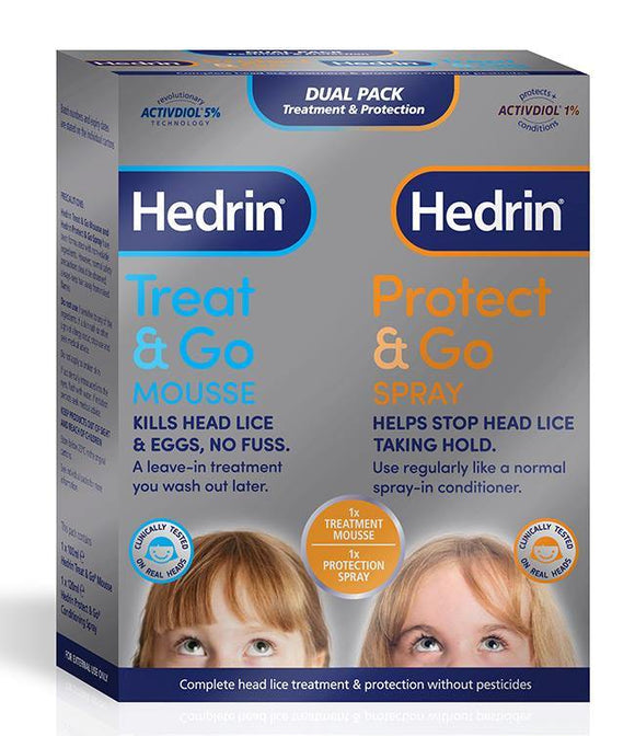 Hedrin Treatment & Protection Dual Pack