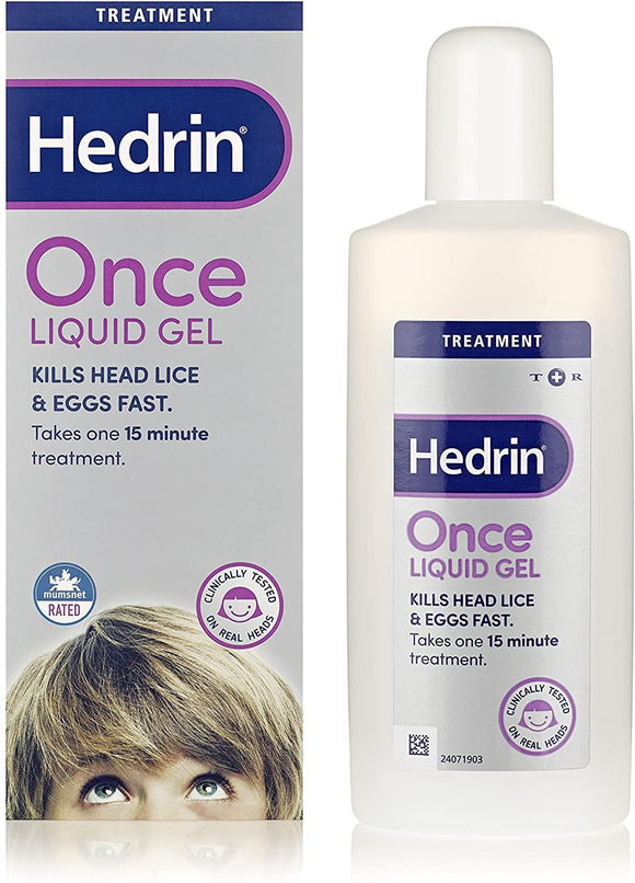 Hedrin Once Spray Liquid Gel 100ml - Medipharm Online