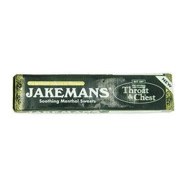 Jakemans Throat & Chest Soothing Menthol Sweets Stick 41g - Medipharm Online - Cheap Online Pharmacy Dublin Ireland Europe Best Price