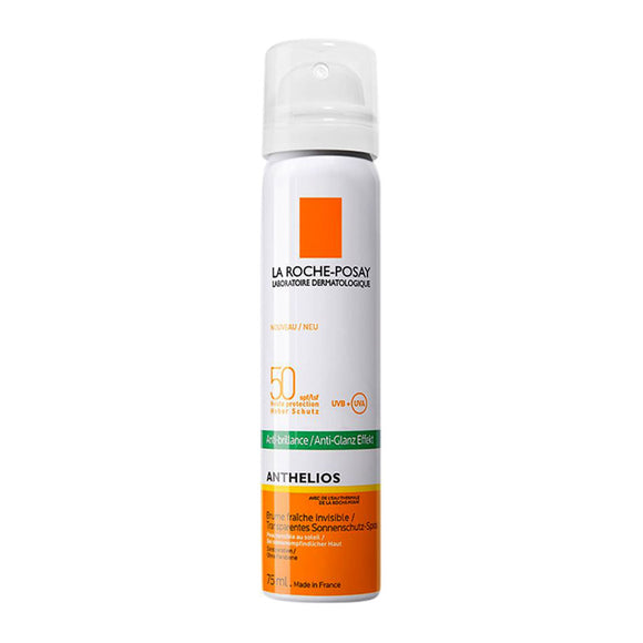 La Roche-Posay Anthelios SPF 50 Anti-Shine Invisible Fresh Mist - 75ml - Medipharm Online - Cheap Online Pharmacy Dublin Ireland Europe Best Price