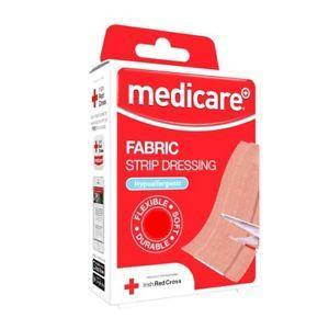 Medicare Fabric Strip Dressing 10 Strips MD001RC