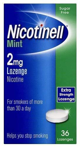 Nicotinell - 2mg - Mint Lozenge - 36 Pack
