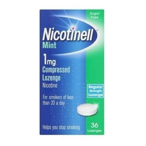 Nicotinell 1mg Mint Lozenge 36 Pack
