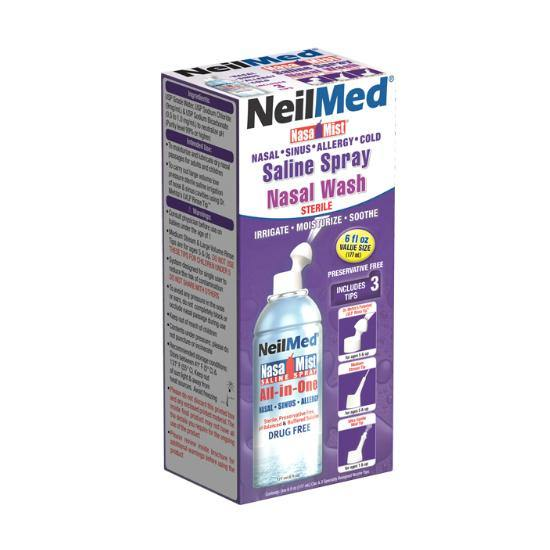 NeilMed Nasamist Saline Spray Nasal Wash 177ml - Medipharm Online - Cheap Online Pharmacy Dublin Ireland Europe Best Price