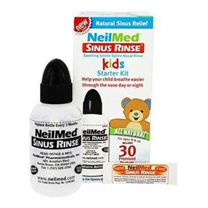 NeilMed Sinus Rinse Kids Starter Kit 120ml Bottle & 30 Premixed Packets - Medipharm Online - Cheap Online Pharmacy Dublin Ireland Europe Best Price