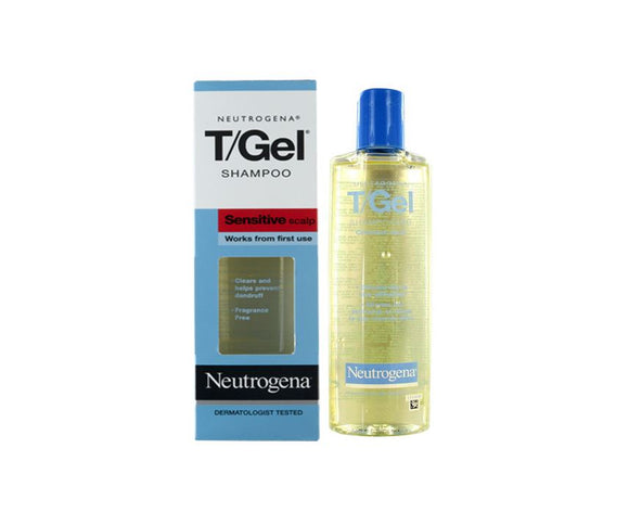 Neutrogena T/Gel Anti-Dandruff Shampoo Sensitive Scalp 125ml - Medipharm Online - Cheap Online Pharmacy Dublin Ireland Europe Best Price