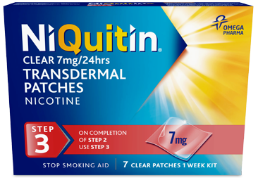 NIQUITIN Classic Step 3 7 days 7MG (Patch)