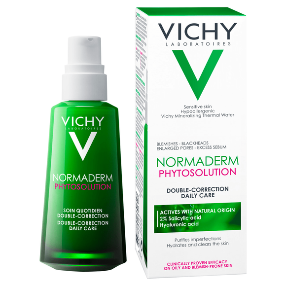 Vichy Normaderm Phytosolution Double Correction Daily Care Moisturiser 50ml