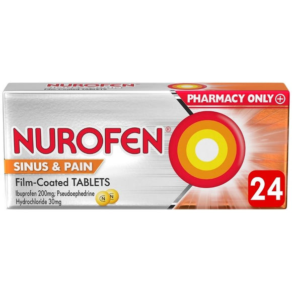 Nurofen Sinus & Pain 24 Tablets