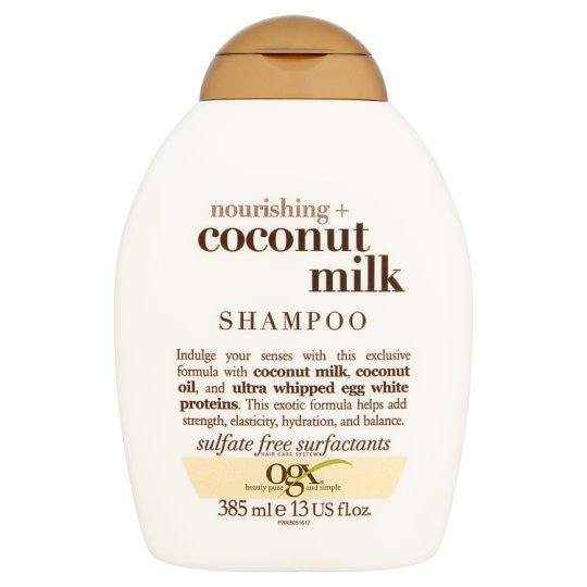 OGX Coconut Milk shampoo 385ml-medipharm.ie