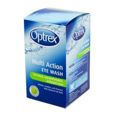 Optrex Multi Action Eye Wash 100ml - Medipharm Online - Cheap Online Pharmacy Dublin Ireland Europe Best Price
