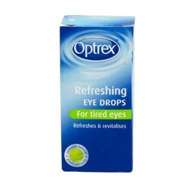 Optrex Refreshing Eye Drops For Tired Eyes 10ml - Medipharm Online - Cheap Online Pharmacy Dublin Ireland Europe Best Price