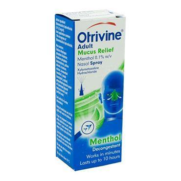 Otrivine Adult Mucus Relief Nasal Spray 10ml - Medipharm Online - Cheap Online Pharmacy Dublin Ireland Europe Best Price