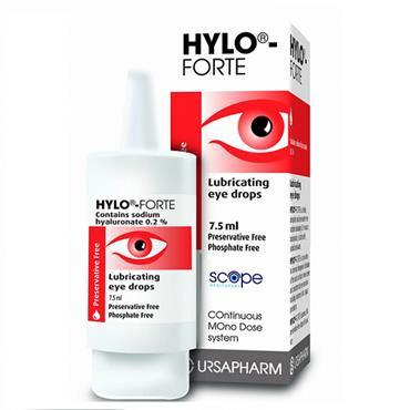 Hylo-Forte Eye Drops Preservative Free 7.5ml - Medipharm Online - Cheap Online Pharmacy Dublin Ireland Europe Best Price