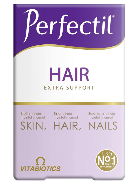 Vitabiotics Perfectil Plus Hair 60 Tablets - Medipharm Online