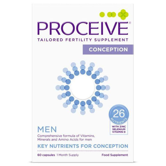 Proceive Advanced Fertility Supplement Men 60 Capsules - Medipharm Online